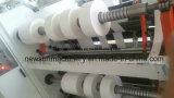 Controlado por PLC de alta velocidad de la inspección y la máquina de corte longitudinal para materiales plásticos
