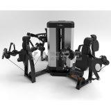 La cosse de 6 Station-Sigles avec croisent plus de la machine de force de matériel de forme physique de gymnastique