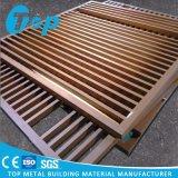 Украшения потолка Ce ISO плитки решетки потолка Approved Washable Perforated