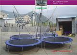 販売のためのベッドを跳ぶPPが付いている1つのバンジーのトランポリンに付き中国の工場4つ