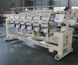 最もよい中国の工場農産物のTシャツのロゴの帽子の刺繍機械6ヘッドは刺繍機械をコンピュータ化した