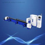 Machine de découpage de laser de fibre de tube en métal