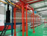 静電気の吹き付け塗装ライン自動粉のコーティングライン