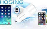 Bunte Großhandelsauto-Aufladeeinheits-Handy-Zubehör USB-Aufladeeinheit