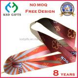 Отсутствие подгонянной MOQ тесемки сатинировки медали напечатанной оптовой продажей