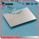 ISO/ SGS certifiés épaisseur 3mm Silver ACP de traitement de surface
