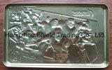 La hojalata repujado Caja de lata de metal