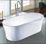 vasca da bagno moderna di ellisse di 1700mm (AT-6131)