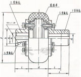 Het Materiaal van het Staal van de Koppeling van de Band van Llb voor Algemene Goederen