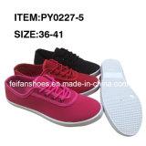 女性の注入のズック靴の原因の履物の靴(FFCS1222-01)