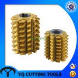 圧力角度20のHSS Dp3~24ギヤ歯切り工具のカッター