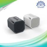 Rectángulo sin hilos estéreo bajo profundo asombroso del altavoz de Bluetooth