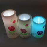 Color Changing Electric Holiday Decorative Plastic LED Candles Lanterna