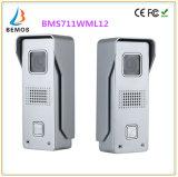 7インチのタッチ画面のドアベルの通話装置の1カメラの2モニタの夜間視界のビデオドアの電話
