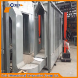 Doppie cabine di spruzzo laterali del rivestimento della polvere di lunghezza 4m