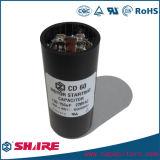 CD60 тип конденсатор конденсатора старта мотора алюминиевый электролитический