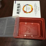 正方形の透過PPの食糧プラスチック包装ボックス