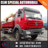 Northbenz 6X4 12ton 14ton Rear Loader Crane Truck