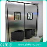 Edelstahl-Auswirkung-Verkehrs-Türen für Küche