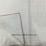 Sliver hilo blanco ver con Shiner lana tela Stock