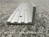Brushed aluminium/aluminium extrudé anodisé profil avec l'usinage cnv