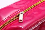 PVC reutilizable elegante bolso de la manija del bolso del regalo de la promoción con la impresión