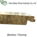 Pas de sol en bambou tissé à tôle tordue