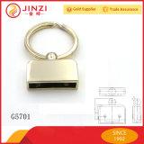 Calidad de la manera personalizada Key Fob decorativo hardware con llavero