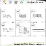 중국 내밀린 알루미늄 단면도 열 싱크 공급자