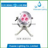 Edion IP68 316 스테인리스 LED 수중 연못 수영장 전등 설비