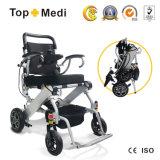 Prezzi motorizzati elettrici Handicapped chiari della sedia a rotelle di Topmedi