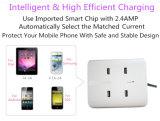 イギリスEU私達Samsung Ippone Huaweiの電話のためのタイププラグAC充電器