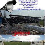 Alta qualità di lumen 800W dell'indicatore luminoso di inondazione dello stadio di Bdsport LED l'alta SMD mette in mostra il sistema di illuminazione dello stadio