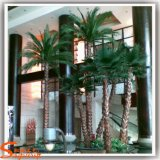 Palma di ventilatore artificiale di buona qualità per la decorazione domestica