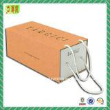 Boîte à tiroir à carton en carton avec poignée et insert