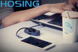 Qualitäts-ledernes Jean-Denim-Mikrotelefon USB-Daten-Kabel
