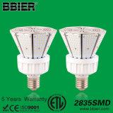 preço das luzes de rua do jardim do diodo emissor de luz de 50W ETL