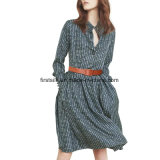 Robe en soie crêpe pour les femmes Fashion