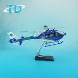 Modelo de helicóptero EC-135 Juguetes promocionales