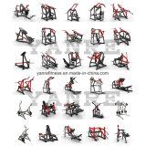 De plaat laadde de Apparatuur van de Geschiktheid van de Gymnastiek van de Sterkte van de Hamer van de Pers van de Borst van de Helling