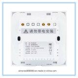 Su uso en casa de tres vías que Smart APP WiFi interruptor de pared de Control remoto con control táctil