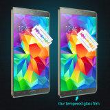 De aangemaakte Beschermer van het Scherm van het Glas voor de Duim van het Lusje van de Melkweg van Samsung S2 9.7 T810 T815