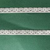 Tissu de nylon tricotés dentelle Lycra pour enjoliveur de vêtements