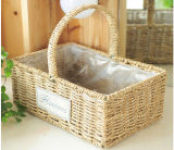 Hot-Sell Natural Cesta de artesanía de paja (BC-S1207)