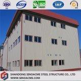 Construction en acier préfabriquée pour la construction d'industrie avec les étages multi
