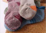 Оптовым платье Customed верхнего качества Desig способа напечатанное хлопком Socks лодыжка Anti-Slip Scoks