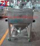 Htd-400 capacidad de mezcla 200kg por el tratamiento por lotes/la mezcla de elevación material/mezclador/mezclador del compartimiento del polvo sin procesar