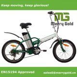 2017 bicicletta pieghevole elettrica economica di 36V 250W da vendere