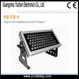 accensione delle lampade e delle lanterne di 48PCS*3W RGBW LED