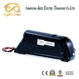 Onderaan Batterij van de Motor van de Fiets van het Lithium van het Type van Buis de Elektrische voor Fietsen